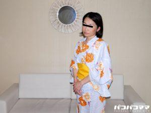 素人 熟女 人妻 浴衣 手コキ イラマチオ 中出し クンニ フェラ 40代
